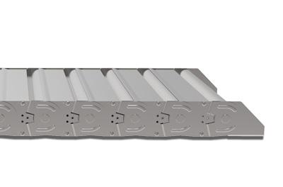 Кабель-канал серии Steel 40LC